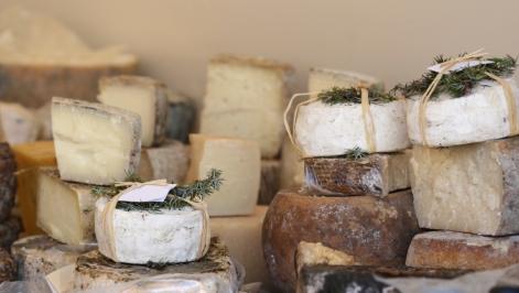 soft cheese assortment